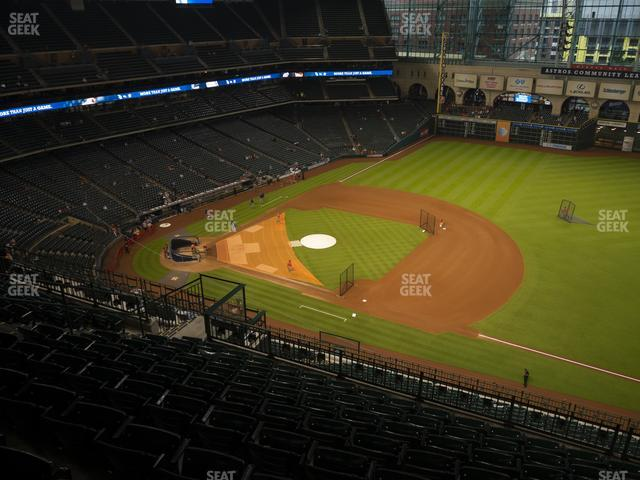 Minute Maid Park Section 429 view