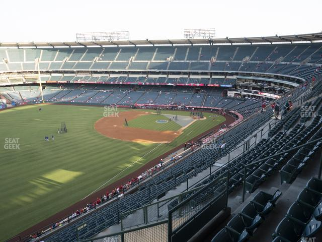 Angel Stadium of Anaheim Section 506 view