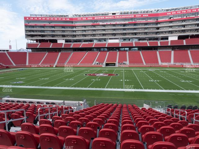 Levi's Stadium Section C 114 view