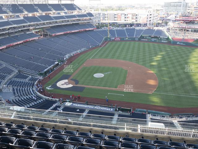 Nationals Park Section 419 view