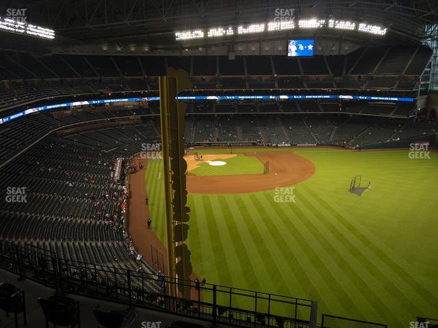 Minute Maid Park Section 438 view