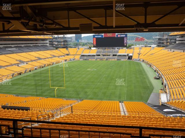 Heinz Field North Club 010 view