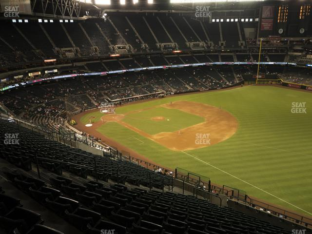 Chase Field Section 304 view