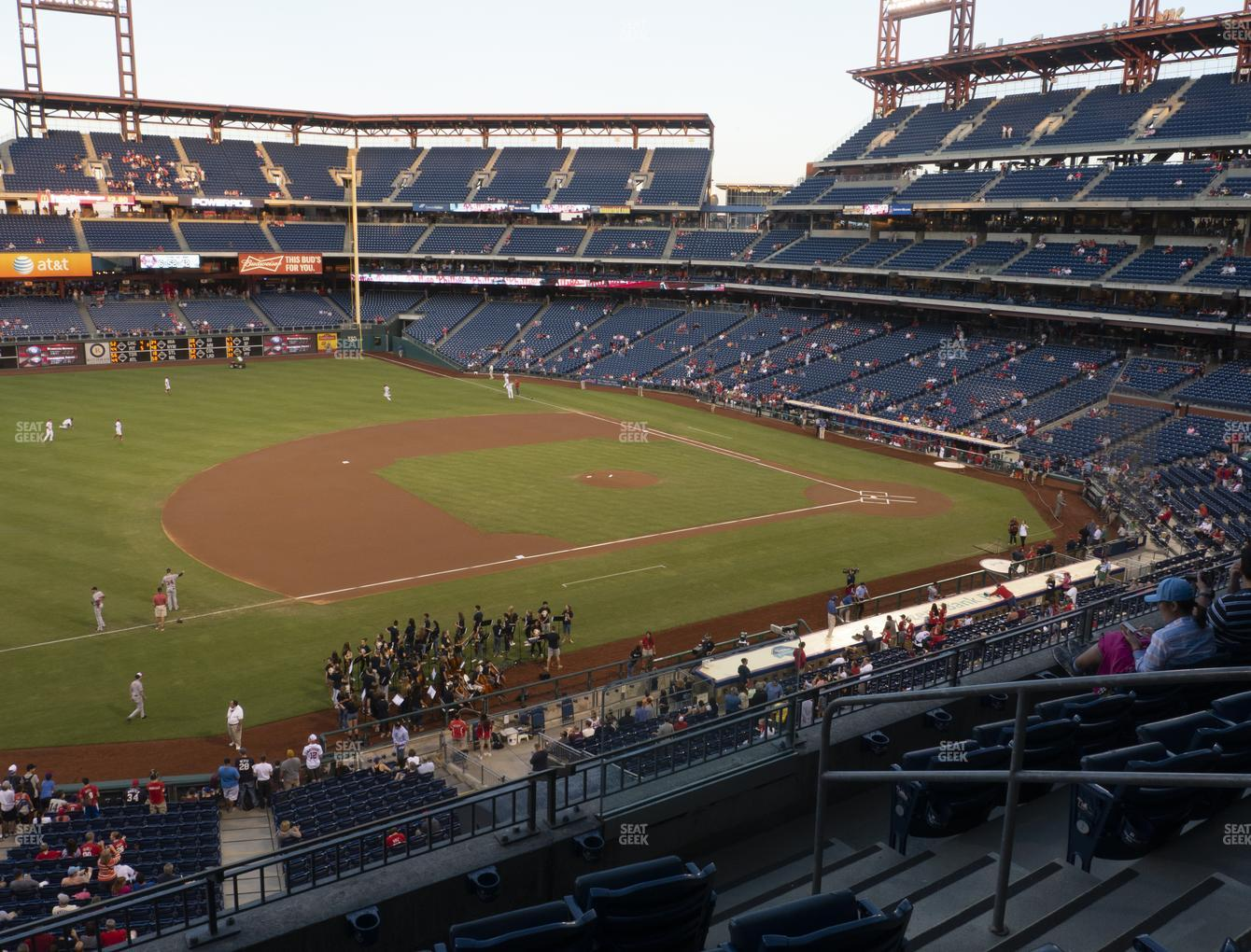 Philadelphia Phillies at Citizens Bank Park Section 231 View