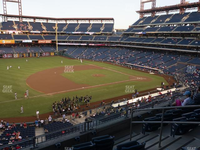 Citizens Bank Park Section 231 view