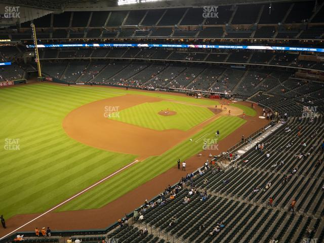 Minute Maid Park Section 307 view