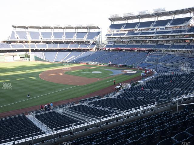 Nationals Park Section 204 view