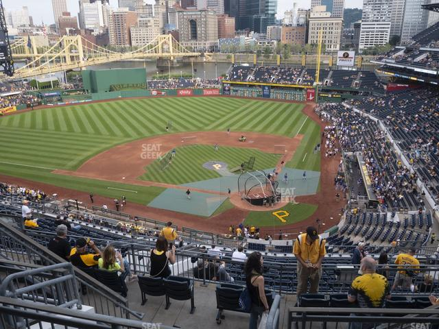 PNC Park Section 319 view