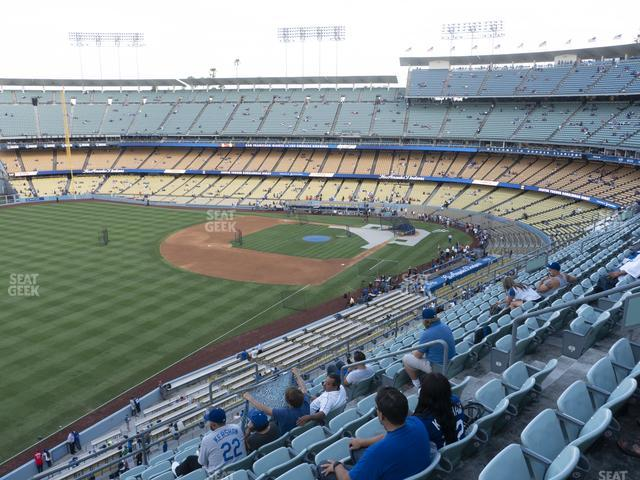 Dodger Stadium Reserve 43 view