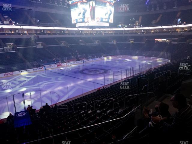 Bell MTS Place Section 208 view