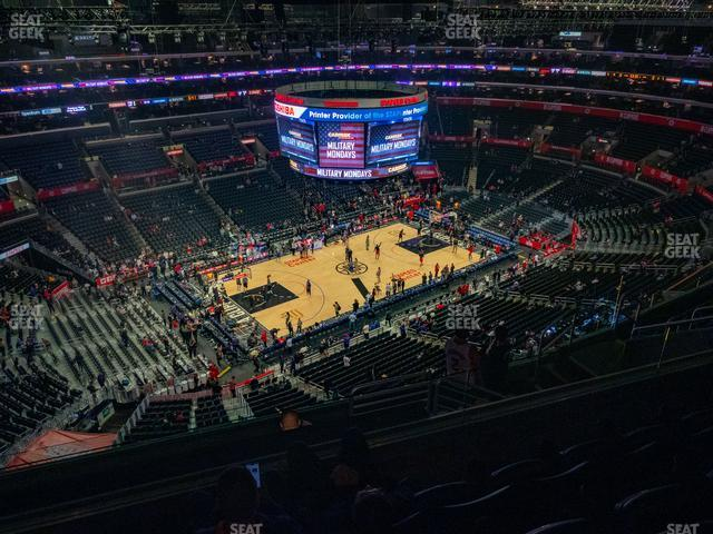 Staples Center Section 321 view