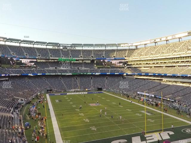 MetLife Stadium Section 229 view