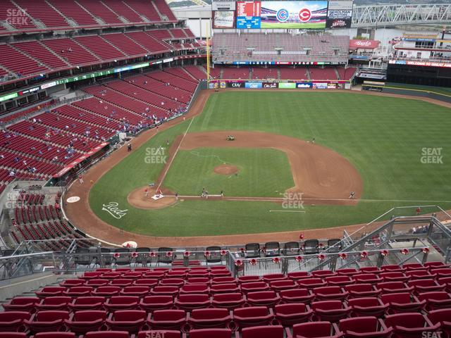 Great American Ball Park Section 529 view