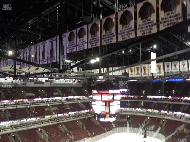 United Center Section 305 view