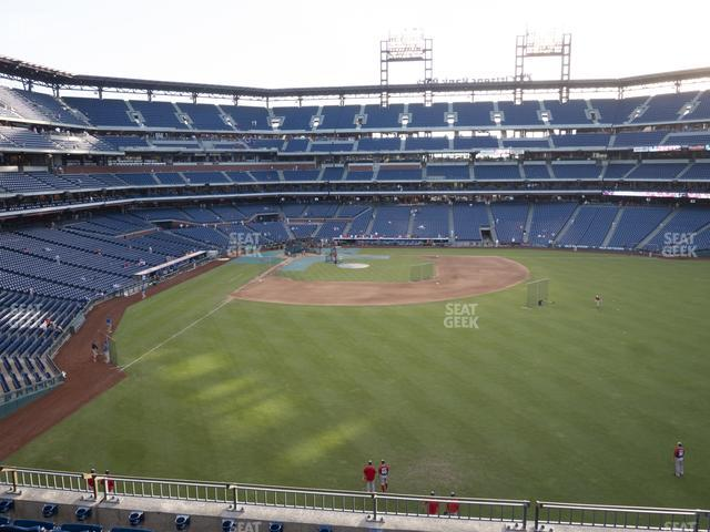 Citizens Bank Park Section 203 view
