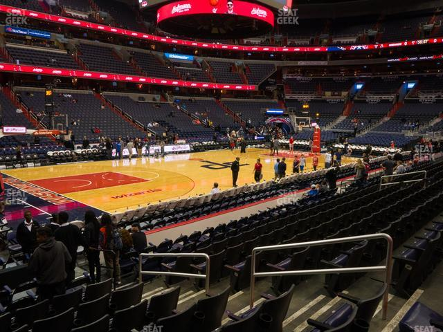 Capital One Arena Section 109 view
