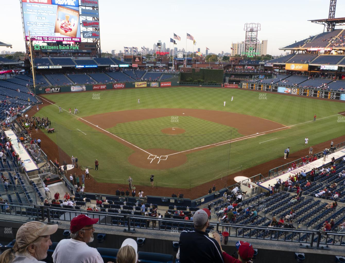 Philadelphia Phillies at Citizens Bank Park Section 221 View