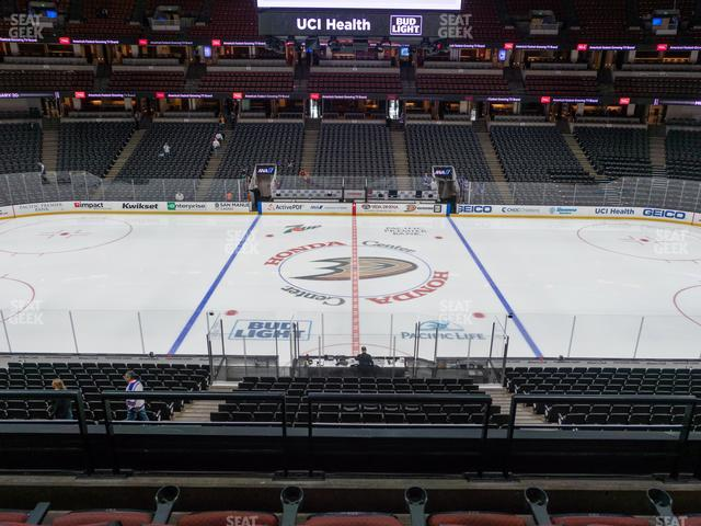 Honda Center Section 320 view