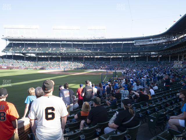 Wrigley Field Section 101 view