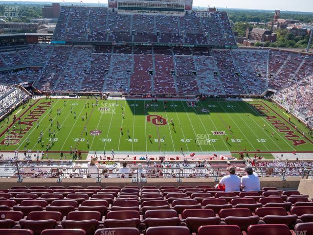 Gaylord Family Oklahoma Memorial Stadium Section 105 Seat Views Seatgeek