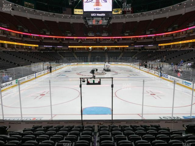 Honda Center Section 215 view