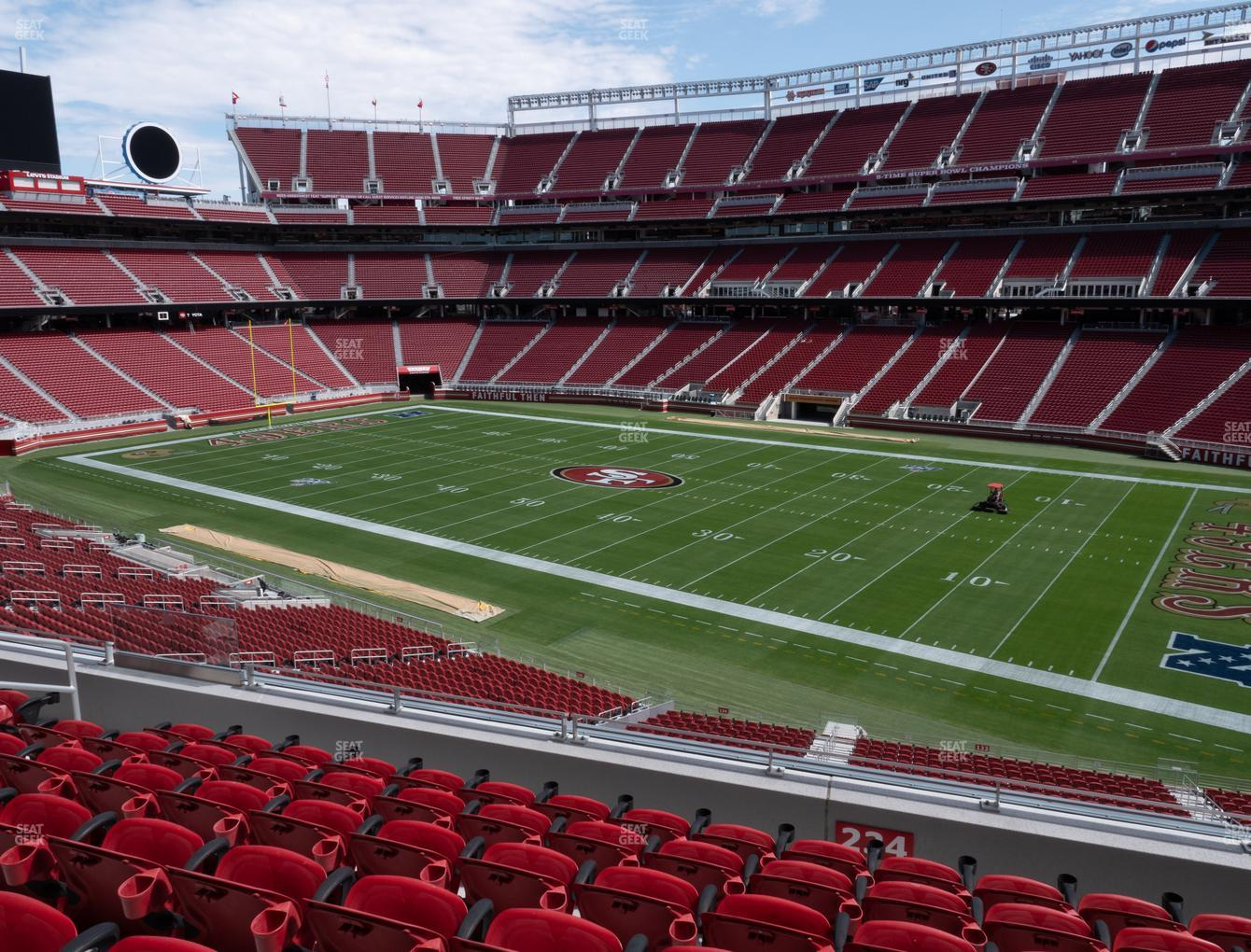 San Francisco 49ers at Levi's Stadium Section 234 View
