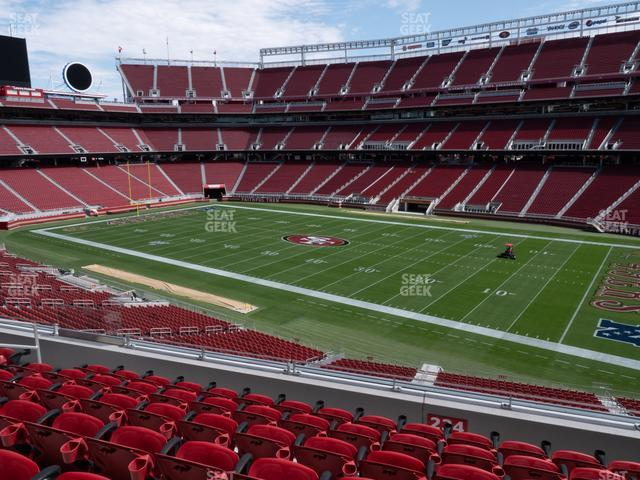 Levi's Stadium Section 234 view
