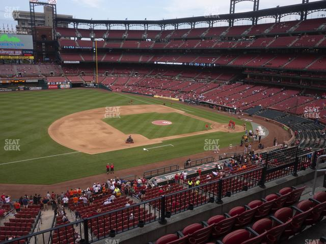 Busch Stadium National Car Rental Club 259 view