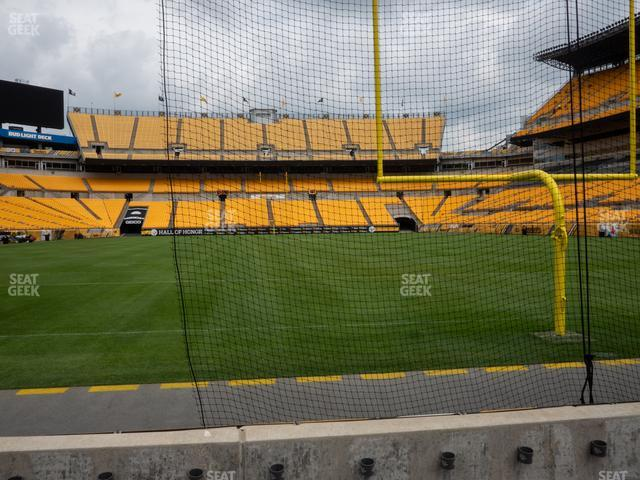 Heinz Field Section FC 2 view