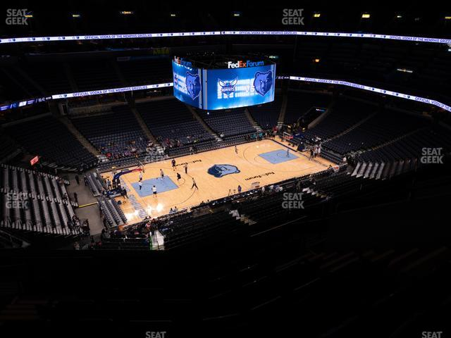 FedExForum Section 206 view