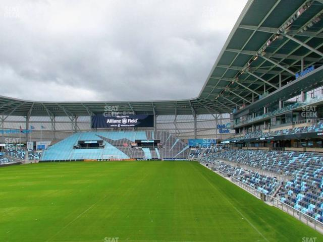 Allianz Field Section 02 view