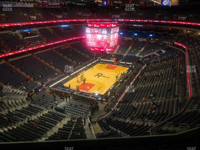 Capital One Arena Section 428 view
