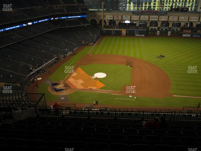 Minute Maid Park Section 425 view