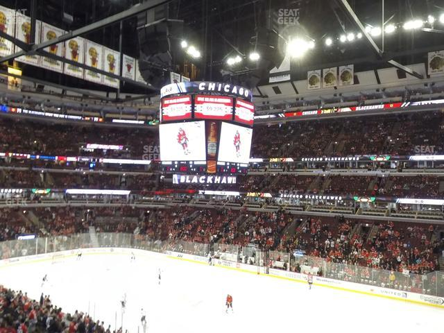 United Center Section 215 view