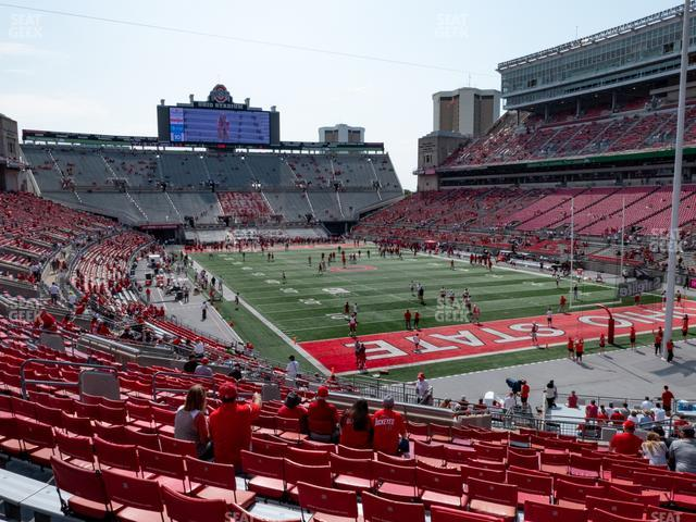 Ohio Stadium Section 8 A view