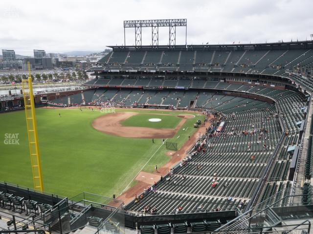 Oracle Park Section 334 view
