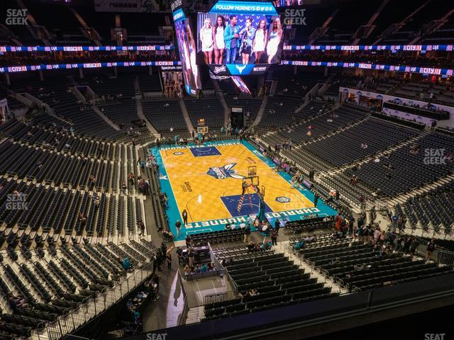 Spectrum Center Section 218 view
