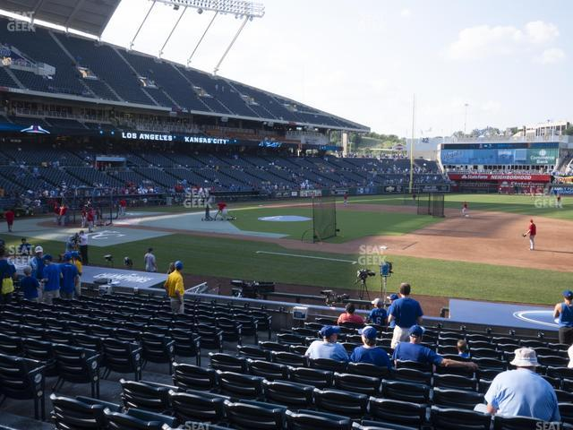 Kauffman Stadium Section 136 view