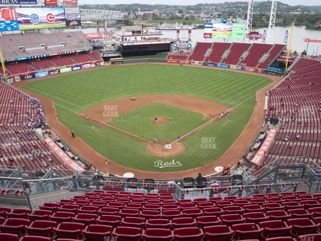 Great American Ball Park Section 523 view