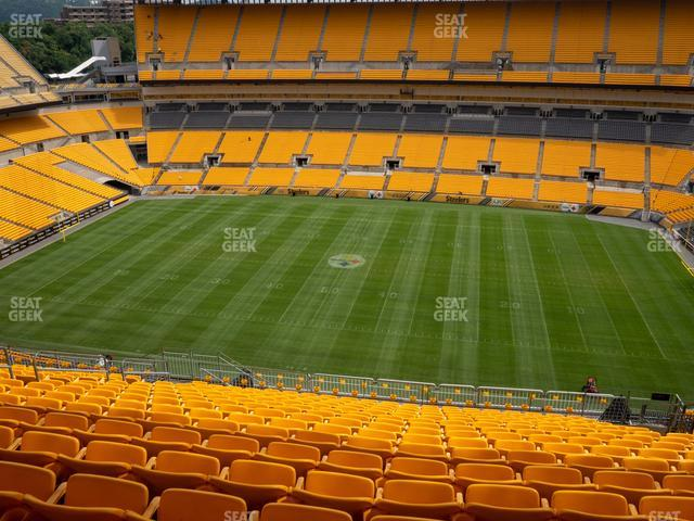 Heinz Field Section 536 view