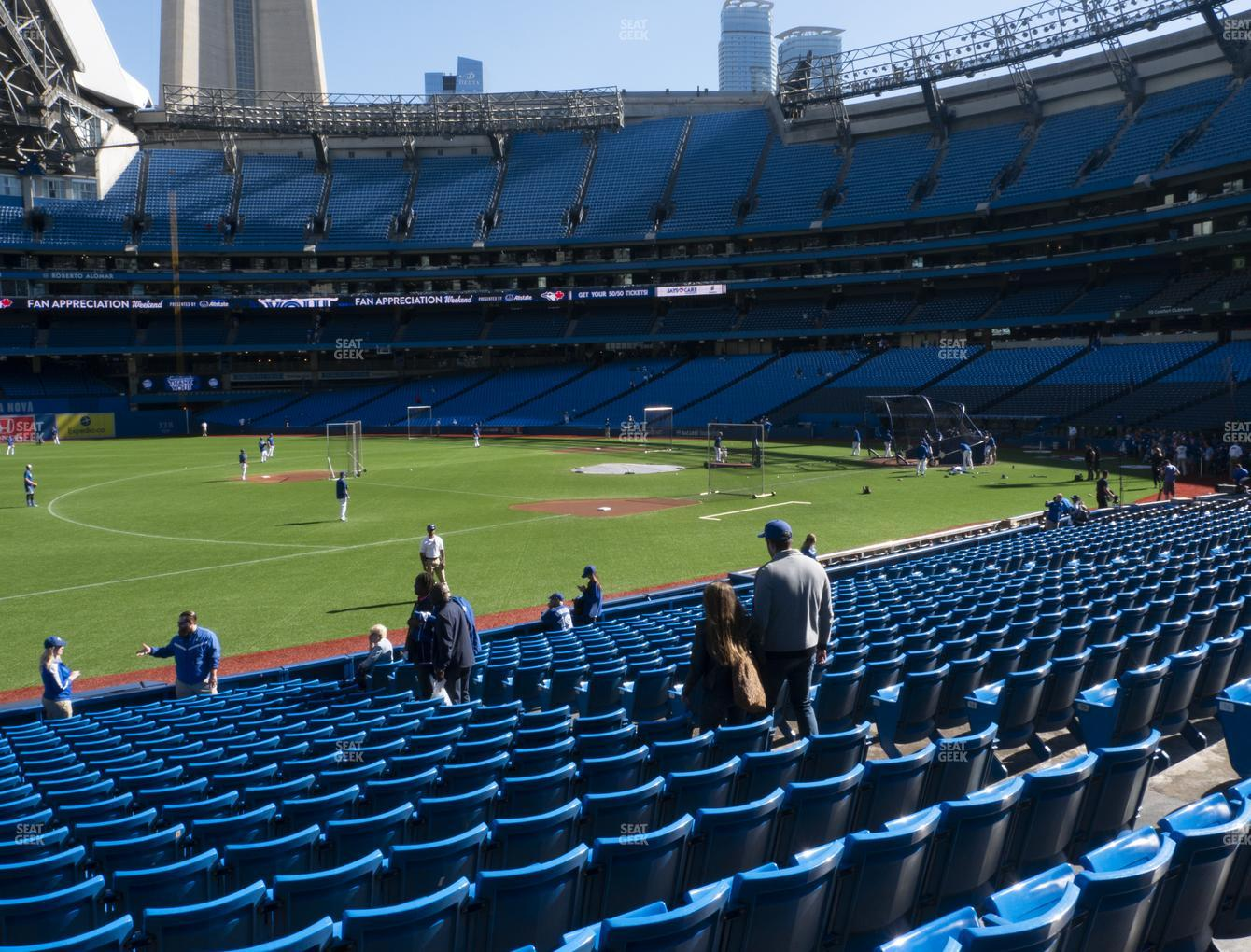 Toronto Blue Jays at Rogers Centre Section 129 L View