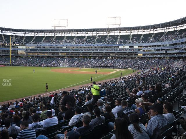 Guaranteed Rate Field Section 154 view