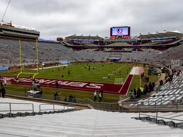 Doak Campbell Stadium Section 40 view