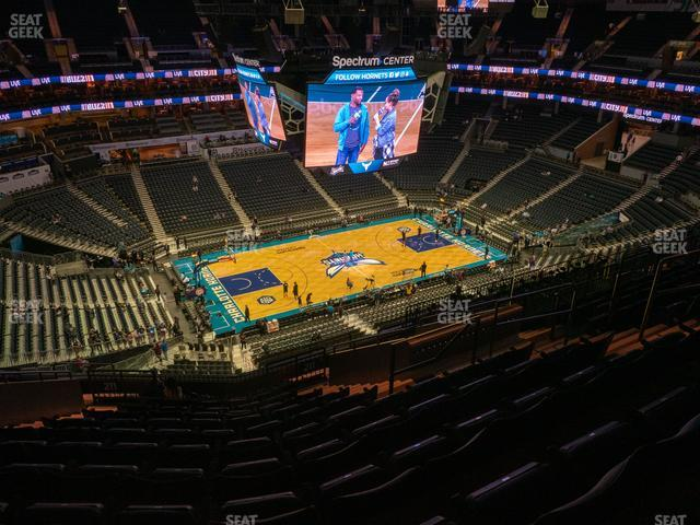 Spectrum Center Section 211 view