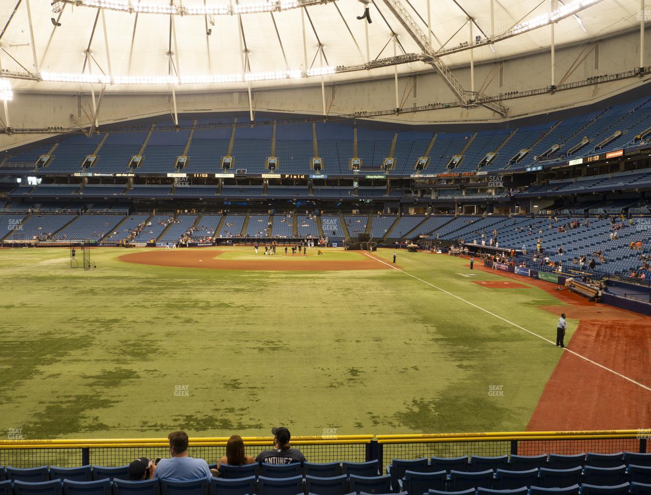 Tropicana Field Section 141 Seat Views Seatgeek