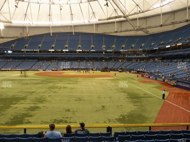 Tropicana Field Section 141 view