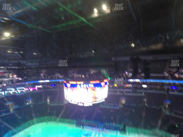Staples Center Section 316 view