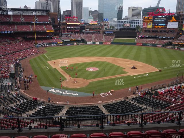 Busch Stadium Home Redbird Club 248 view