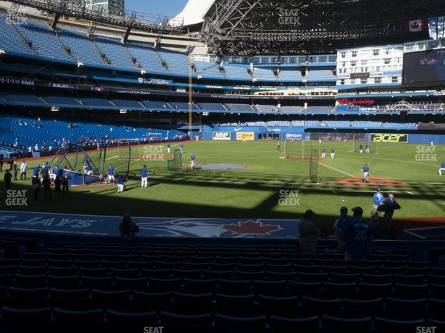 Rogers Centre Section 118 R view