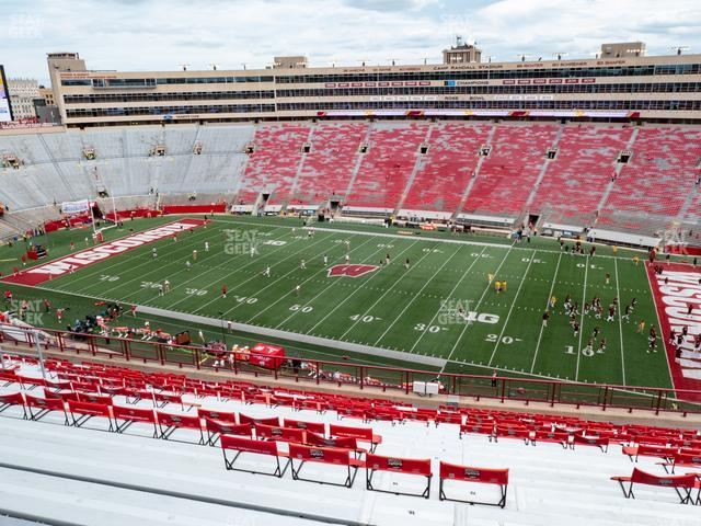 Camp Randall Stadium Section DD view
